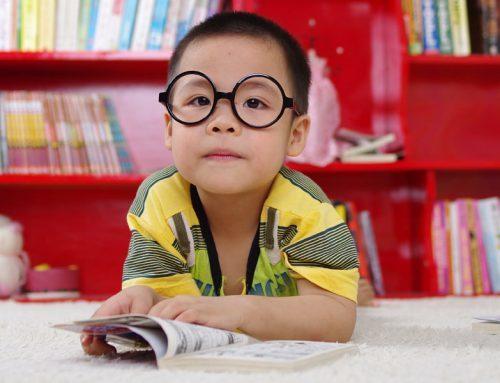 Children Enjoying Reading